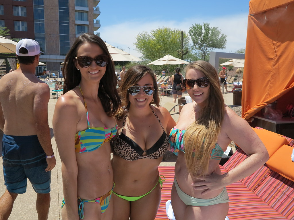 Breastman bikini pool party — pic 2