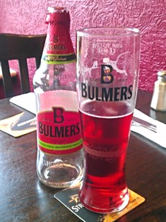 Bulmers, Cider Crushed Red Berry and Lime, England