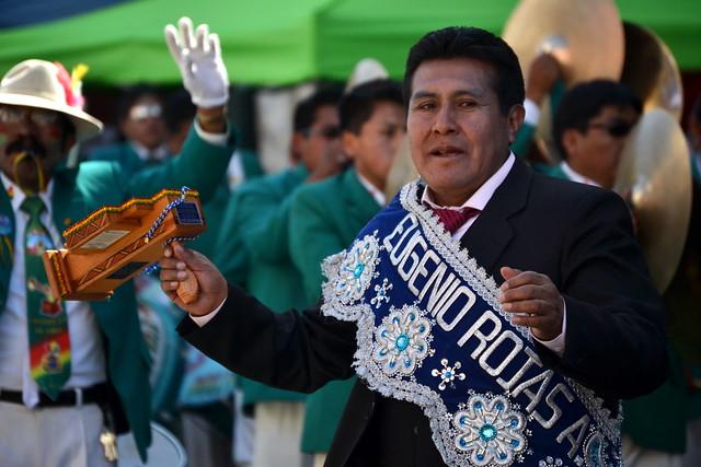Eugenio Rojas, político boliviano (MAS) expresidente de la cámara de Senadores, ahora viceministro de Desarrollo Rural