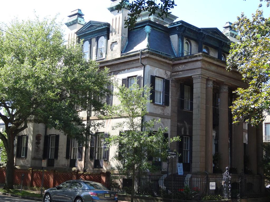 Harper Fowlkes House Savannah | James Oglethorpe was the ...