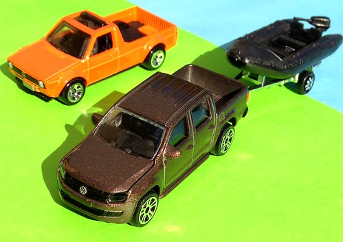 Majorette VW Amarok, Hot Wheels VW Caddy