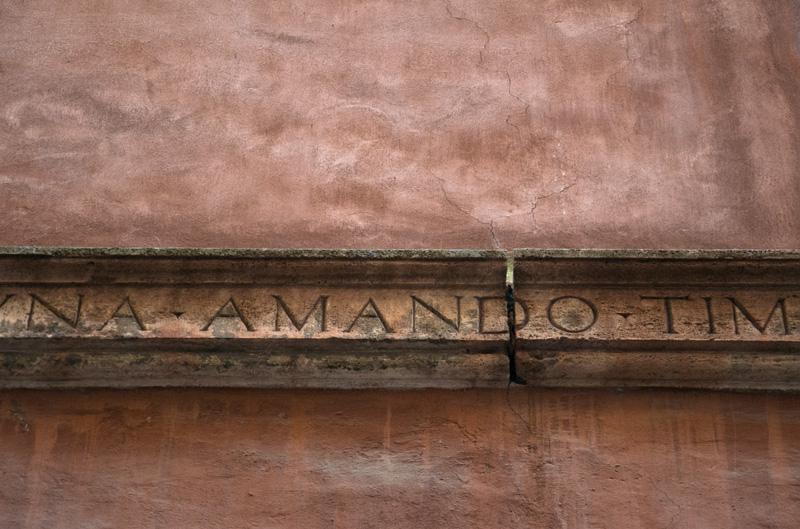Amando wall - Rome