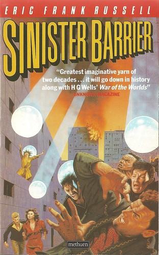 Eric Frank Russell - Sinister Barrier (Methuen 1986)