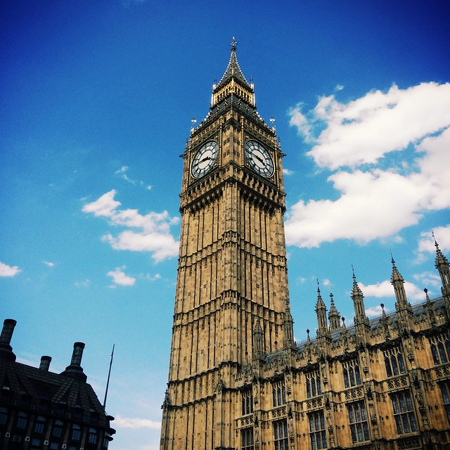 Hey look kids, there's Big Ben, and there's Parliament…