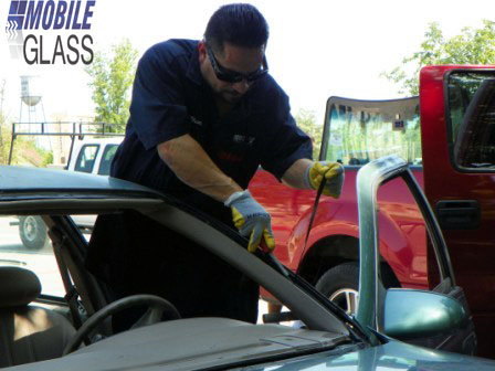 Removal of Windshield Moulding