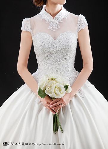 高雄推薦婚紗攝影-高雄kiss99麗緻婚紗告訴大家2015春季婚紗的流行趨勢new (4)