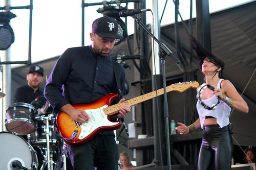 Phantogram Josh Carter, Sarah Barthel