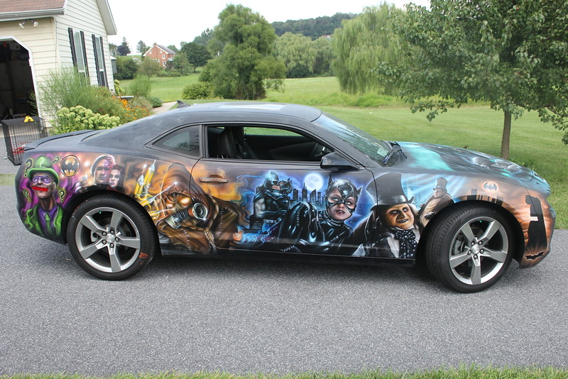 Batman Chevy Camaro by Halo