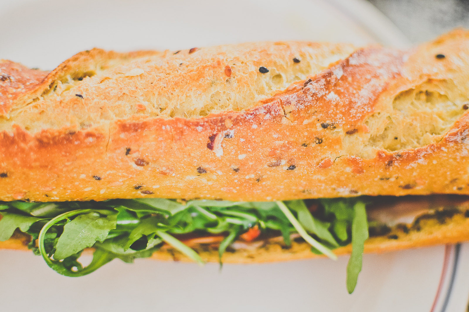 Tiong Bahru Bakery Prosciutto Rocket Sandwich