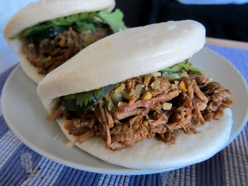 Taiwanese Style Pulled Pork Buns