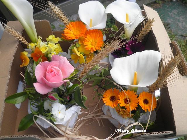 fiori in sacchetto x prima comunione5