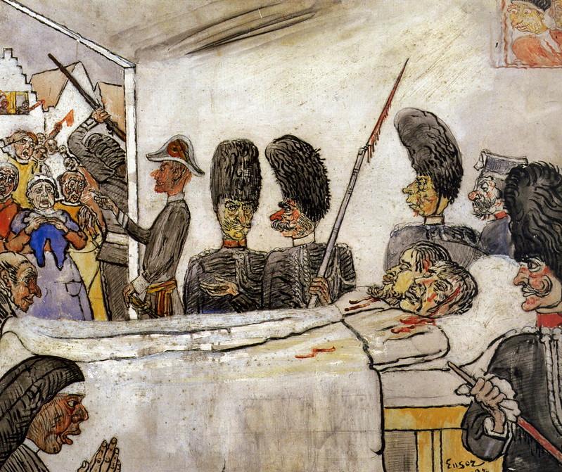 James Ensor - The Gendarmes, 1888
