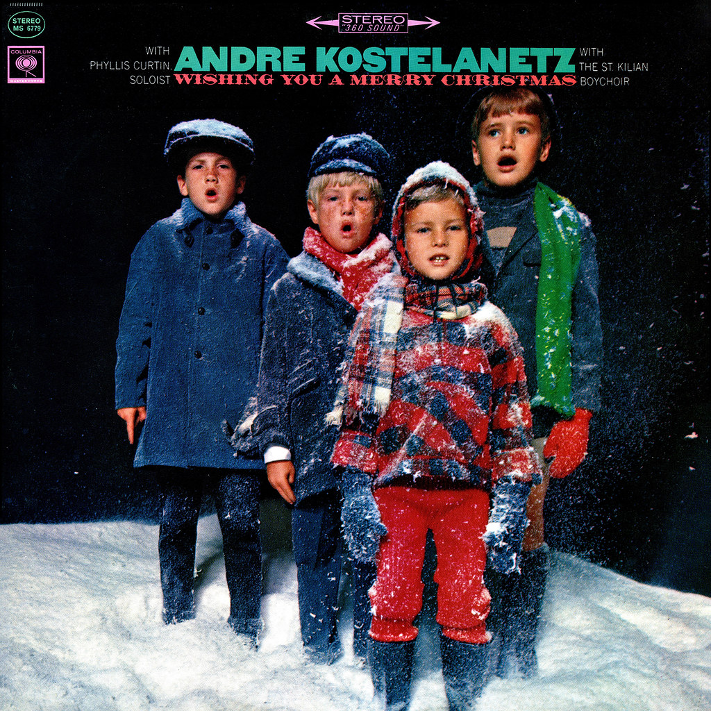 Andre Kostelanetz - Wishing You A Merry Christmas