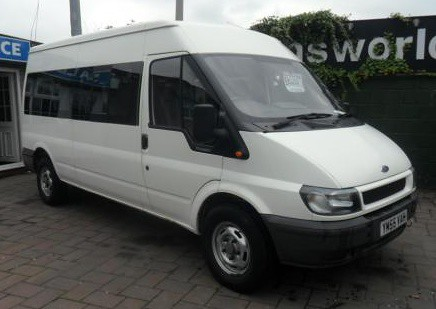 2005 ford transit 2 4td 350 lwb 15 seater minibus. Black Bedroom Furniture Sets. Home Design Ideas