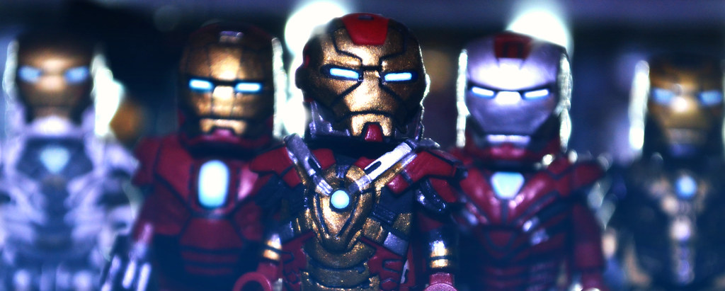 LEGO Iron Man 3 : Heartbreaker V2, Red Snapper, & Silver C ... Lego Iron Man 3 Suits
