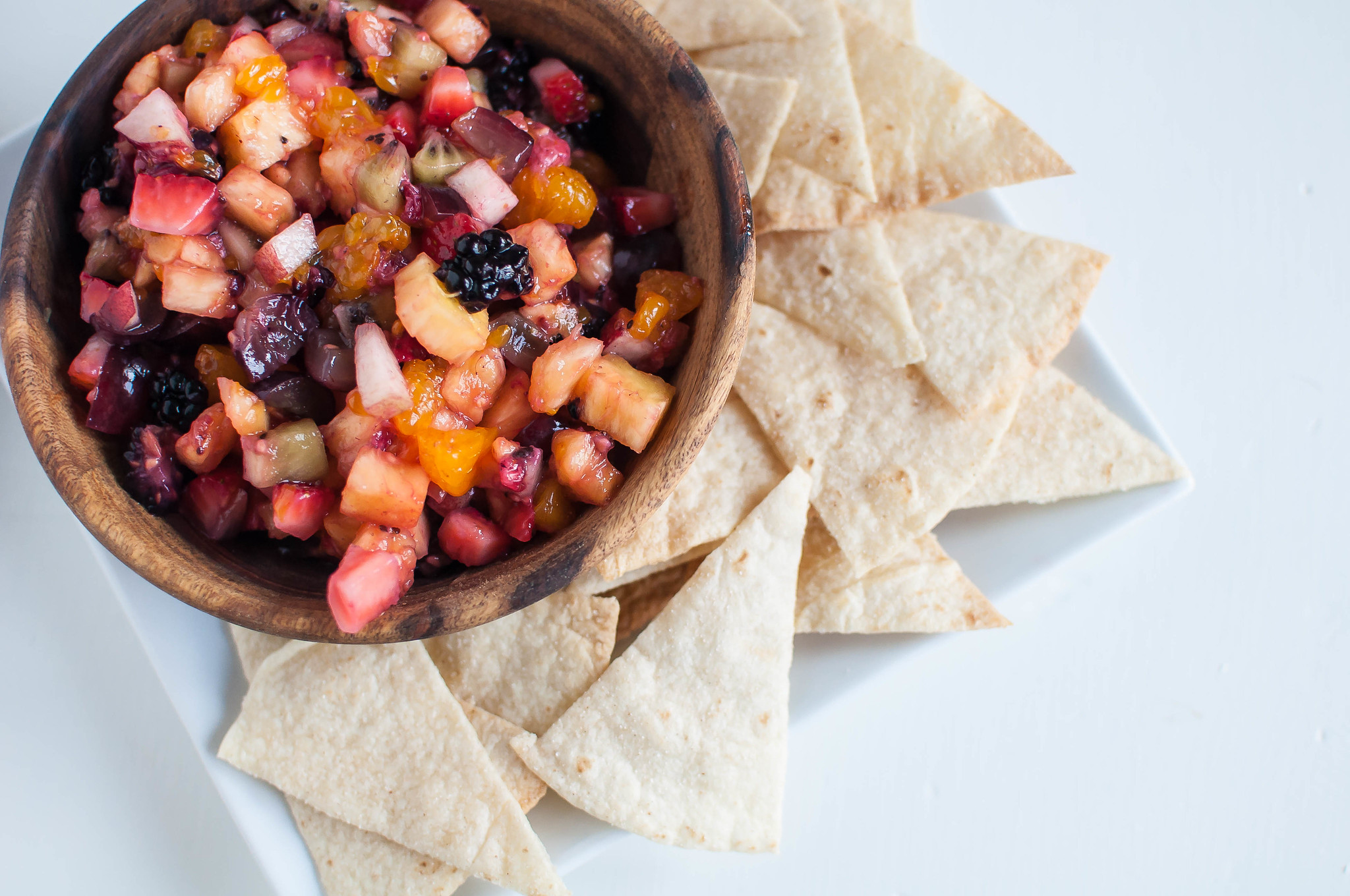 Fruit Salsa with Cinnamon Chips 2