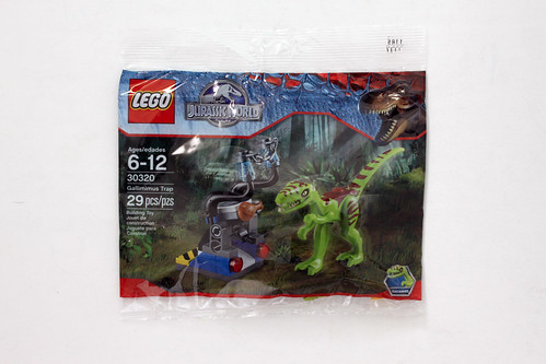 LEGO Jurassic World Gallimimus Trap Polybag (30320)