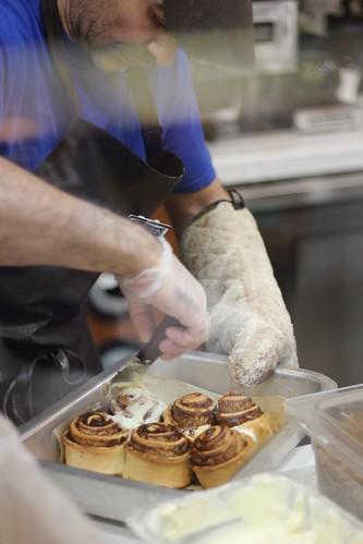 receita cinnamon roll perfeito