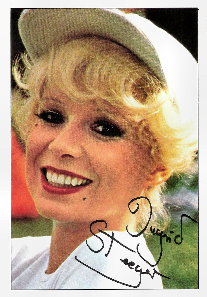 Ingrid Steeger  German Autograph Card By Bravo Sexy -5061