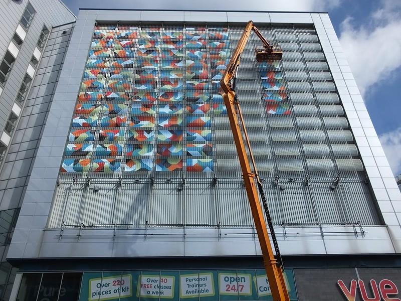 Kera street art on Millennium Plaza