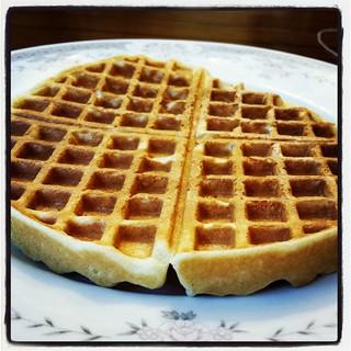 Let us praise the Waffle Gods! #waffles #Yum