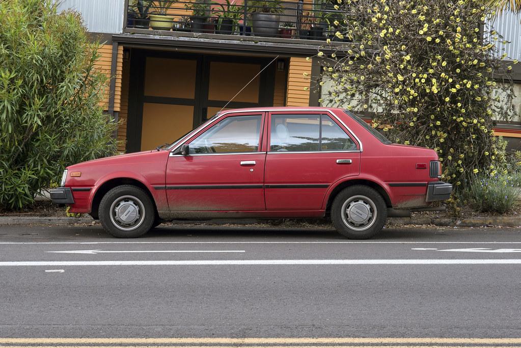 1985 Nissan Sentra | Portland, Oregon | Curtis Perry | Flickr