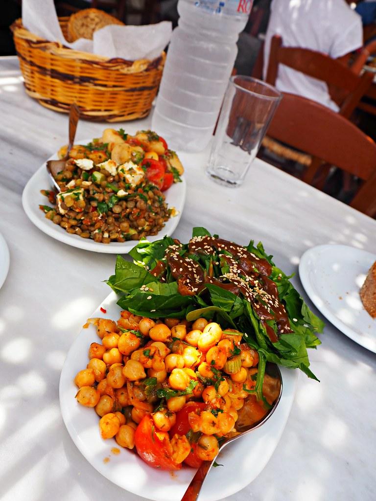 Agios Sostis beach Mykonos Kiki's Tavern 1