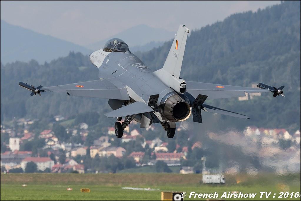 F-16 Belge airpower zeltweg 2016 , AIRPOWER16 - Österreichs Airshow , Steiermark , Austria, Canon Reflex , EOS System