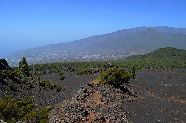 View from Mirador Llano de Jable, La Palma