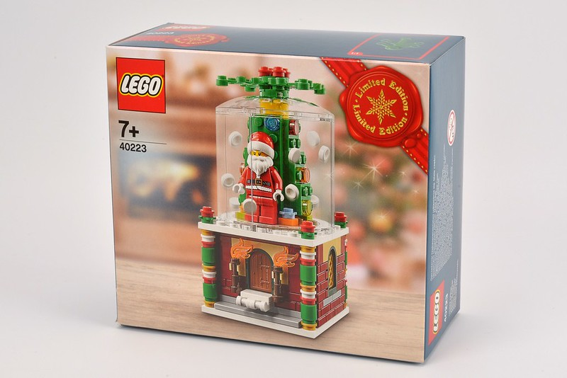 Lego Christmas 2016 Snow Globe 40223 Black Friday Limited Edition Brand New