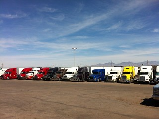 Easter Morning at the TTT truck stop. | by desertdutchman