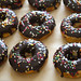 Chocolate-Glazed Funfetti Doughnuts - 8