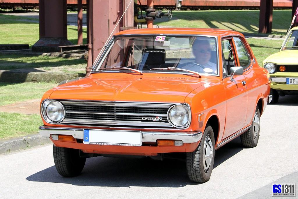 1970 1974 Datsun Sunny B110 The Nissan Sunny Is A