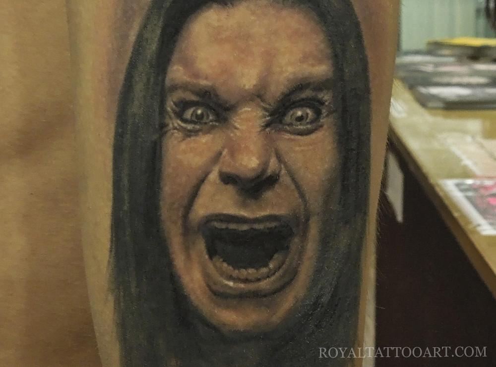 Ozzy Osbourne Tattoos Ozzy Osbourne Portrait