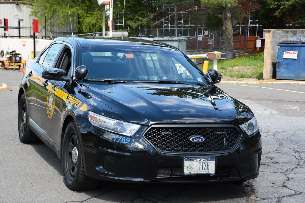 Picture Of New York State Trooper Car 1t20 2014 Ford T