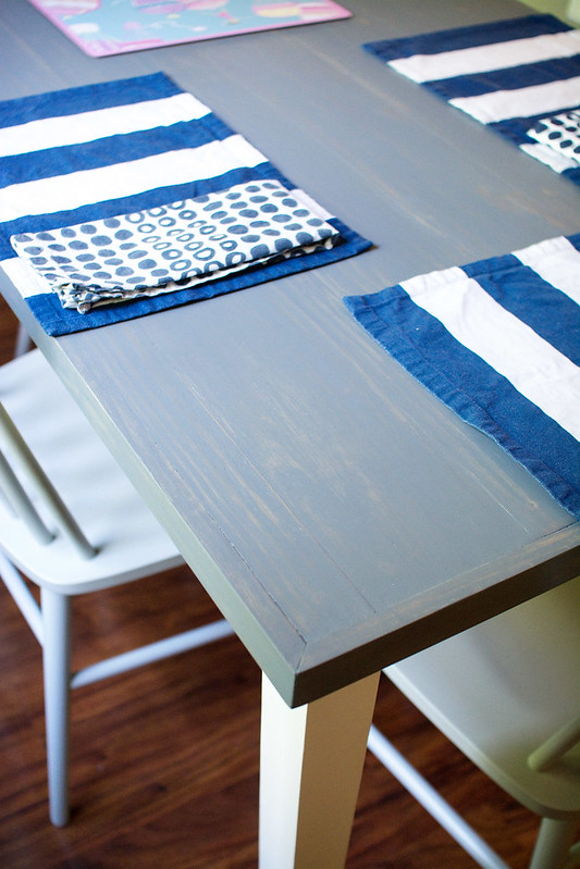 DIY Kitchen Table Makeover