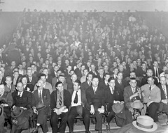 Transit Union Strike Meeting: 1945