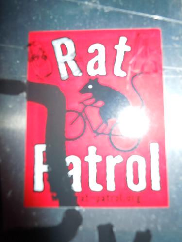 """05/22/15 """"Rat Patrol"""" Sticker (Riverside Drive, Mpls, MN)"""