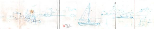 Malaga port avec Luis Ruiz - Emily Nudd-Mitchell