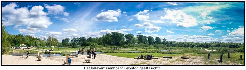 Het Belevenissenbos Lelystad (17-05-2015).