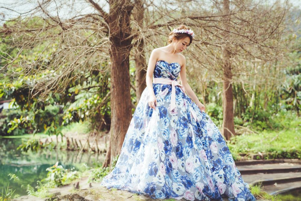 推薦台北溫暖自然自助婚紗女攝影師