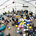 The Railsberry chillout tent