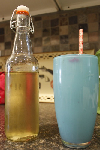 20120421. Lavender simple syrup + club soda = love.d of the season. | by Famous the Cat