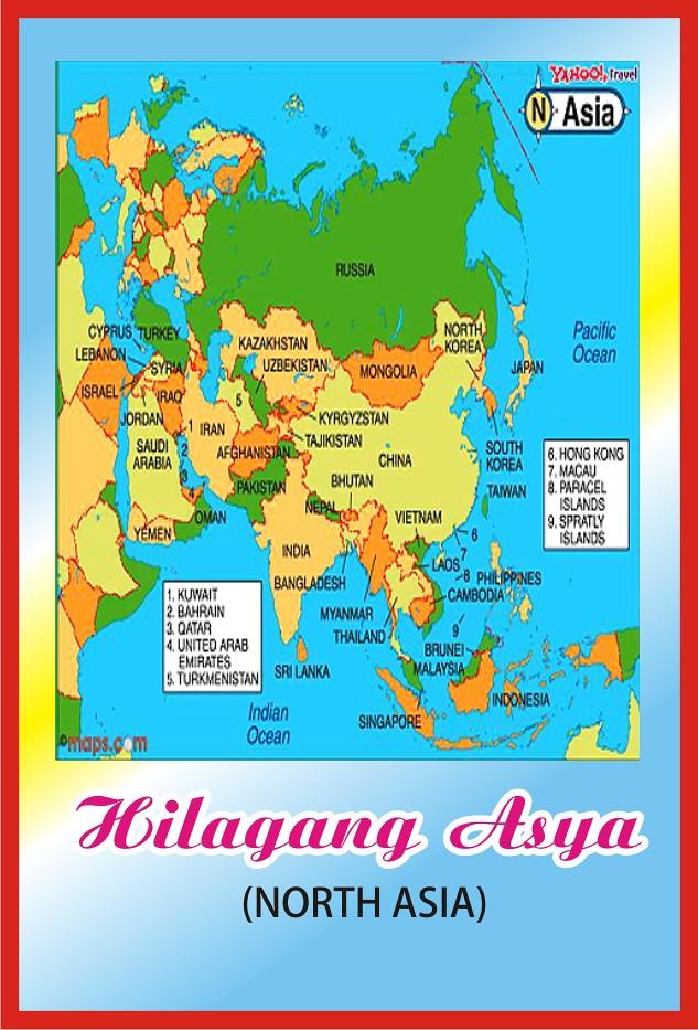 Hilagang Asya Map  Edwin Reobaldez  Flickr