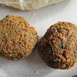 Falafel – Kichererbsenbällchen