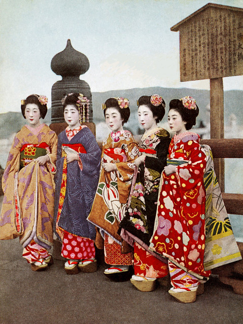 Flowers of Kyoto -  Front 1930s