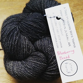 I truly have some amazing friends. This was a sweet and extremely generous gift in memory of my Lola & Zeus from an old friend. It's absolutely to die for...  #qiviut #handdyedyarn #alaska #yarn #holycow #knitstagram @atreehuggerswife