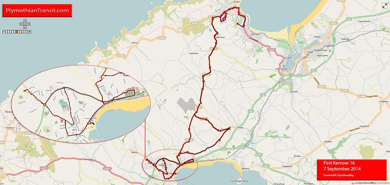 16 Penzance - Nancledra - St Ives