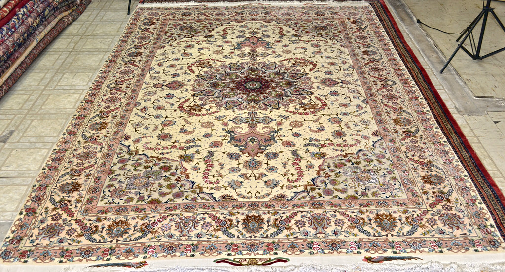 Shirfar Tabriz Persian Rug 7x10 - 70 raj (1)