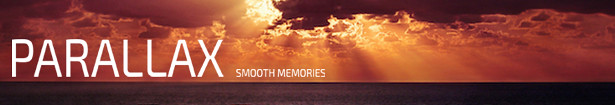 Minimal Parallax Smooth Memories Slideshow Banner